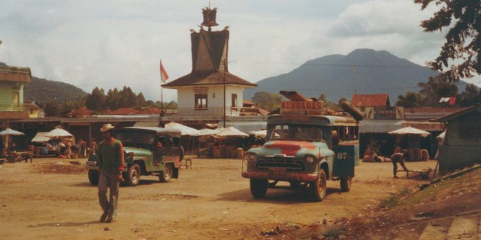 Pasar Berastagi Tahun 1980