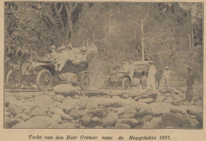 Perjalanan Mr.Cremer ke Dataran Tingggi Karo tahun 1907