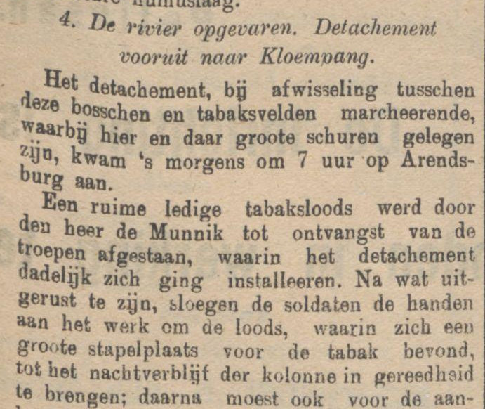 Koran De Sumatra Post tanggal 21-08-1915