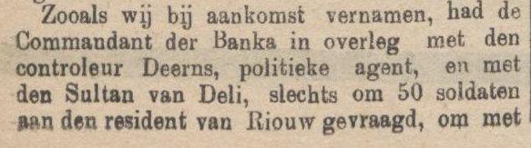 De Sumatra Post tanggal 20-08-1915