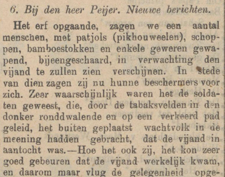 Koran De Sumatra post tanggal 23-08-1915