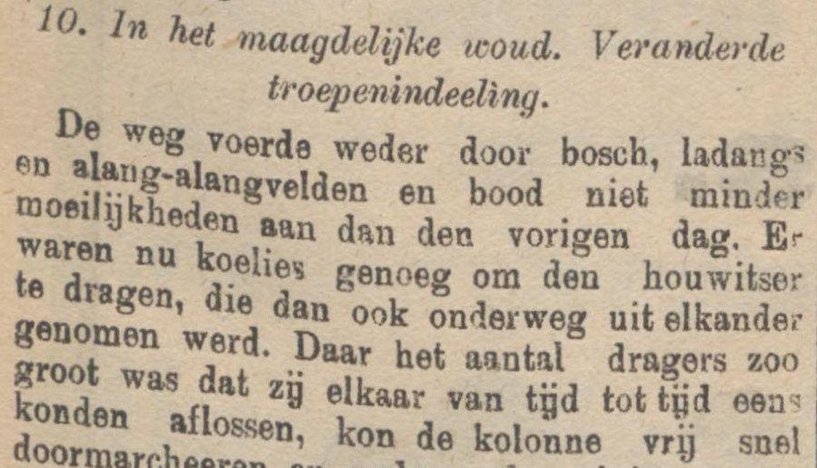 Sumber Koran De Sumatra Post tanggal 25-08-1915