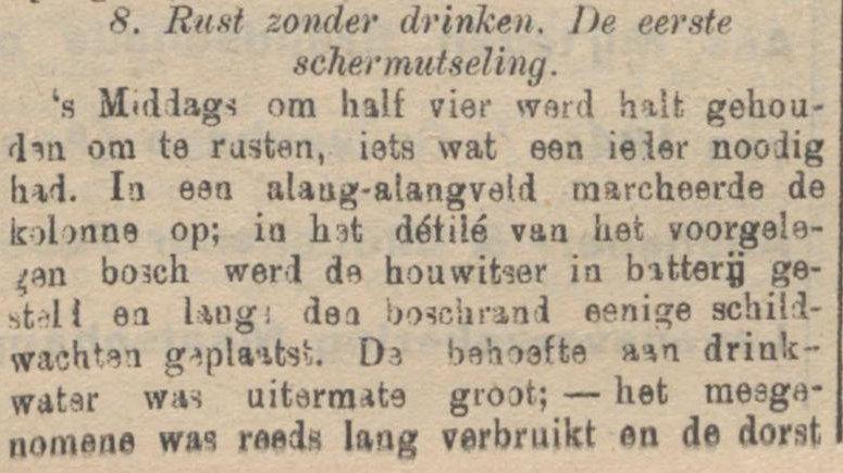 Koran De Sumatra Post tanggal 24-08-1915