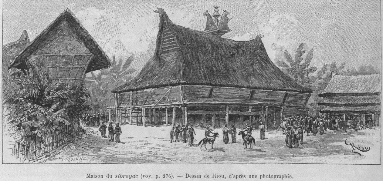 Seberaya. Dari buku Un an en Malaisie (1889-1890) oleh Jules Claine.