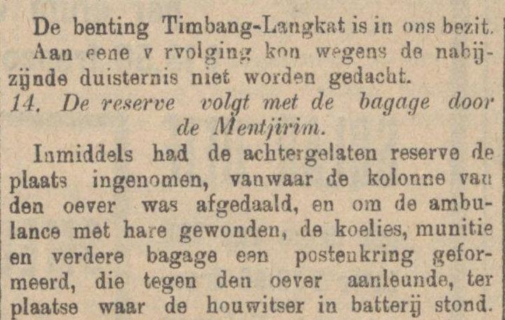 Koran De Sumatra Post tanggal 27-08-1915