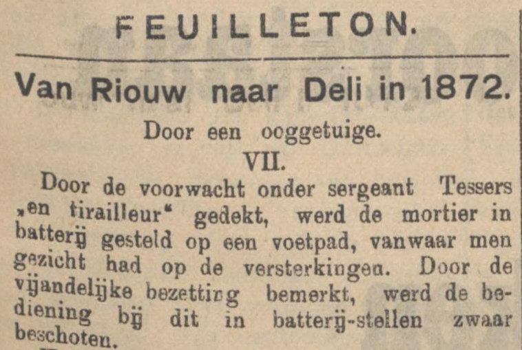 Koran De Sumatra Post tanggal 26-08-1915