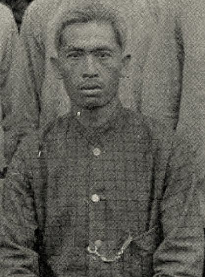 Guru Ponto. Dari buku Uit den aanvang der Karo zending, aanteekeningen en herinneringen, 1909