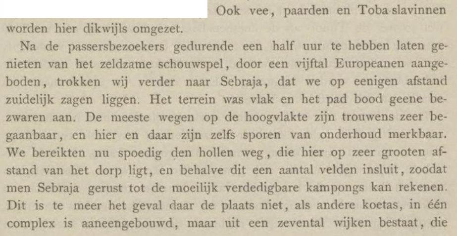 Halaman 59 di Jurnal Tijdschrift van de Nederlandsch Aardrijkundig Genootschap IX, 1892