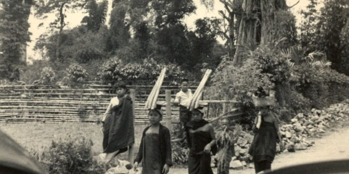 Perempuan Karo dari sebuah desa dekat Kabanjahe. Tahun 1939. Sumber : KITLV.