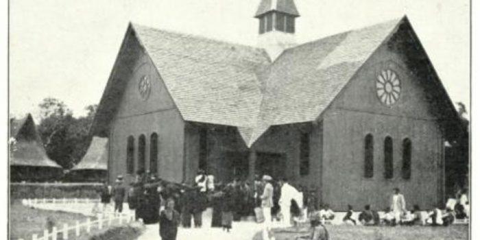Gereja baru di Lau Simomo