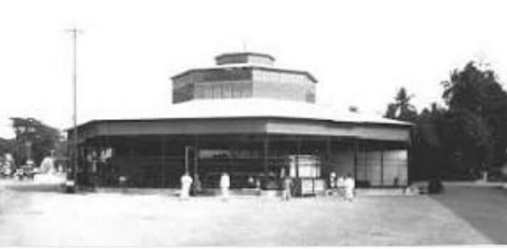 Pasar Bundar tahun 1925