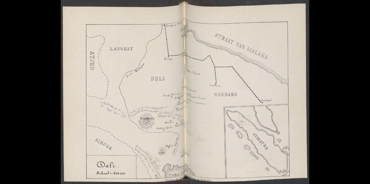 Buluh Awar 1909. Dari buku Uit den aanvang der Karo zending (1909)
