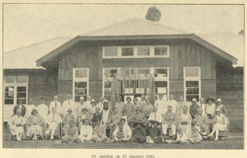 Peresmian Asrama di Kabanjahe tanggal 10 Januari 1931.